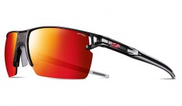 Julbo Outline Prescription Sunglasses - Clip-On Insert - Translucent Black & Red / Spectron 3 CF Red