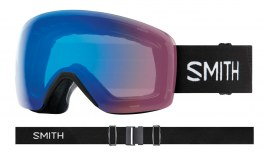 Smith Optics Skyline Ski Goggles - Black / ChromaPop Storm Rose Flash