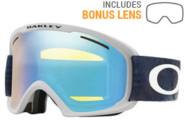 Oakley O Frame 2.0 XL Ski Goggles - Mystic Flow Poseidon / HI Yellow Iridium + Dark Grey