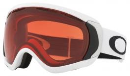 Oakley Canopy Ski Goggles - Matte White / Prizm Rose