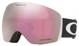 Oakley Flight Deck Ski Goggles - Matte Black / Prizm HI Pink Iridium