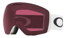 Oakley Flight Deck XL Prescription Ski Goggles - Matte White / Prizm Dark Grey