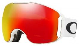 Oakley Airbrake XL Ski Goggles - Polished White / Prizm Torch Iridium + Prizm Rose