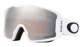 Oakley Line Miner XM Prescription Ski Goggles - Matte White / Prizm Black Iridium
