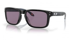Oakley Holbrook Sunglasses - High Resolution Collection Polished Black / Prizm Grey