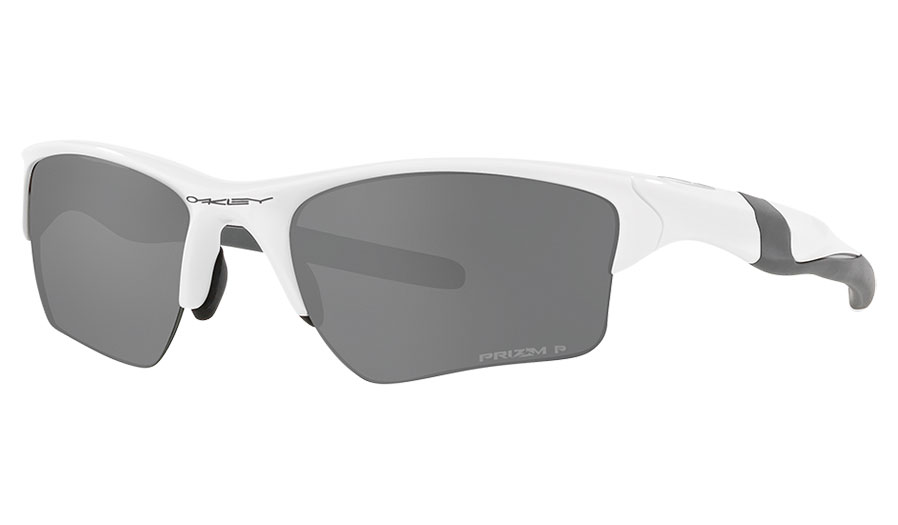 Oakley Half Jacket 2.0 XL Sunglasses - Polished White / Prizm Black Polarised
