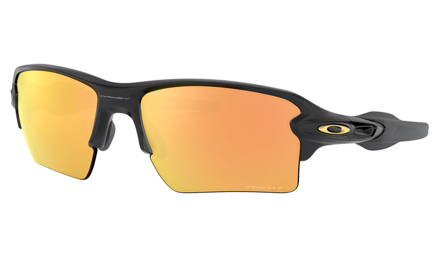 Oakley Flak 2.0 XL Sunglasses - Matte Black / Prizm Rose Gold Polarised