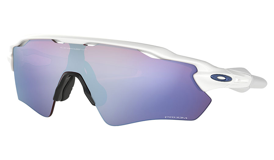 Oakley Radar EV Path Sunglasses - Polished White / Prizm Snow Sapphire Iridium