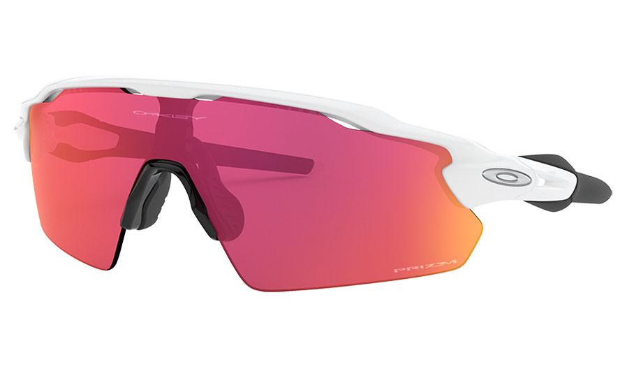 Oakley Radar EV Pitch Sunglasses - Polished White / Prizm Field