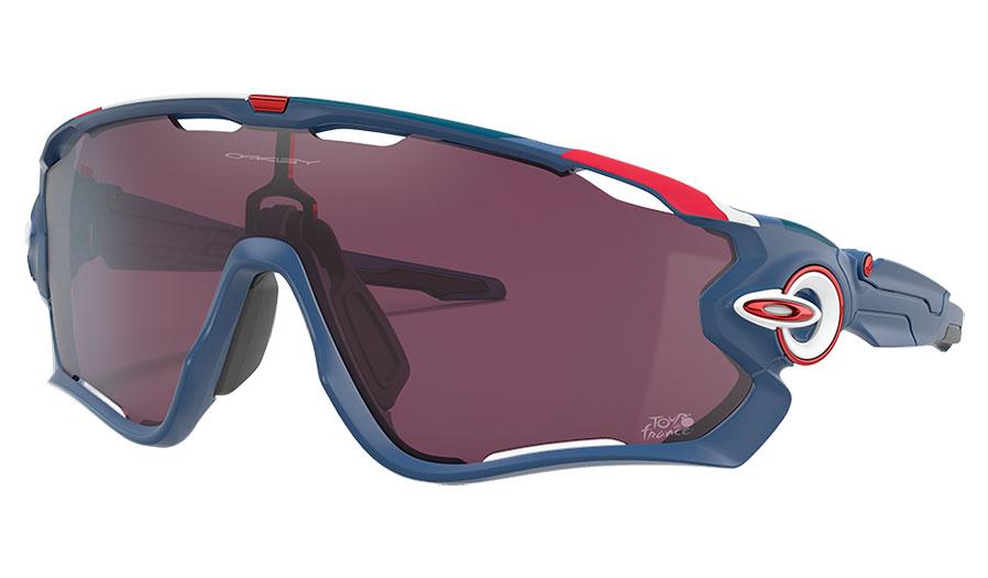Oakley Jawbreaker Sunglasses - Tour de France Collection Matte Poseidon / Prizm Road Black