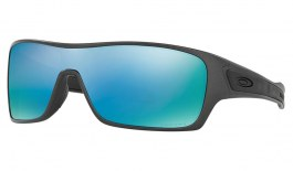Oakley Turbine Rotor Sunglasses - Steel Collection - Steel / Prizm Deep Water Polarized