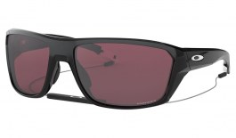 Oakley Split Shot Sunglasses - Polished Black / Prizm Snow Black