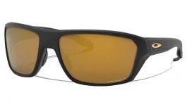 Oakley Split Shot Sunglasses - Matte Black / Prizm 24K Polarised