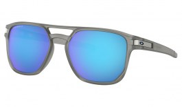 Oakley Latch Beta Sunglasses - Matte Grey Ink / Prizm Sapphire Polarised