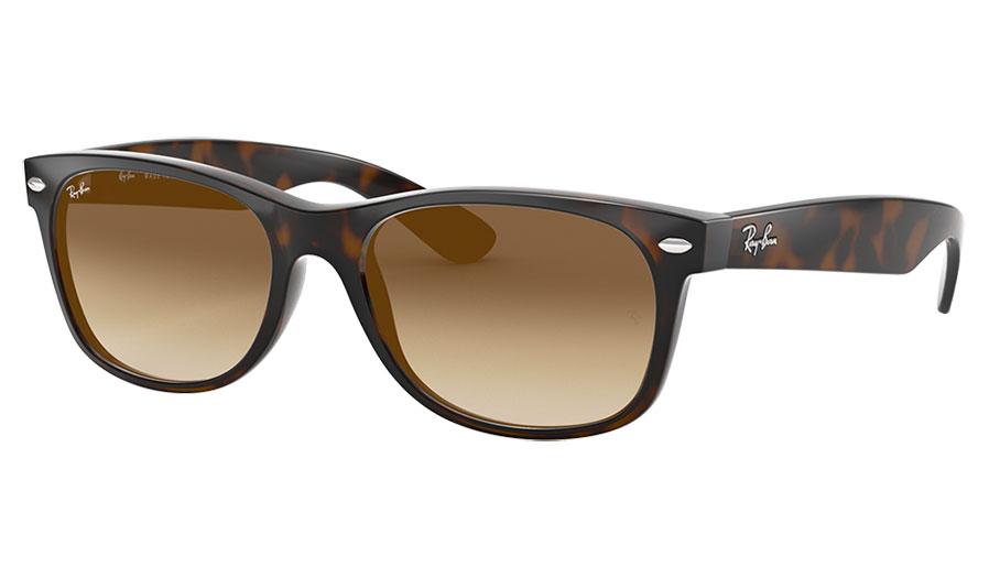 Ray-Ban RB2132 New Wayfarer Sunglasses - Tortoise / Brown Gradient