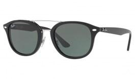 Ray-Ban RB2183 Sunglasses - Black / Green