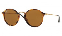 Ray-Ban RB2447 Sunglasses - Tortoise & Gold / Brown