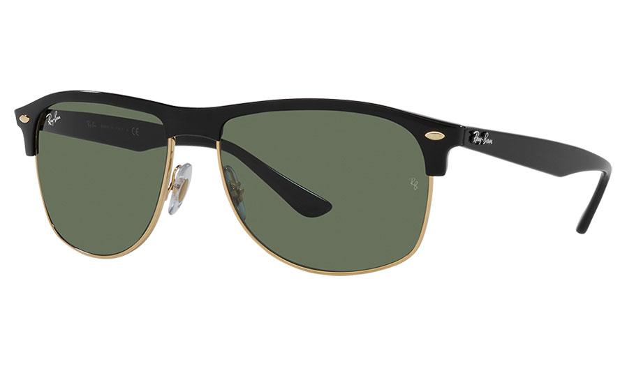 Ray-Ban RB4342 Sunglasses - Black / Green