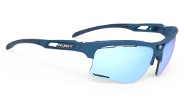Rudy Project Keyblade Sunglasses - Pacific Matte Blue / Multilaser Ice