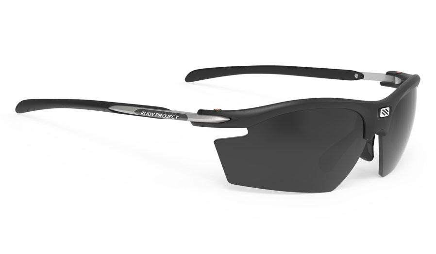 Rudy Project Rydon Prescription Sunglasses - Clip-On Insert - Matte Black / Smoke Black