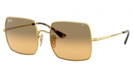 Ray-Ban RB1971 Square Sunglasses - Gold / Evolve Orange Gradient Photochromic