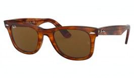 Ray-Ban RB2140 Original Wayfarer Sunglasses - Light Havana / Brown