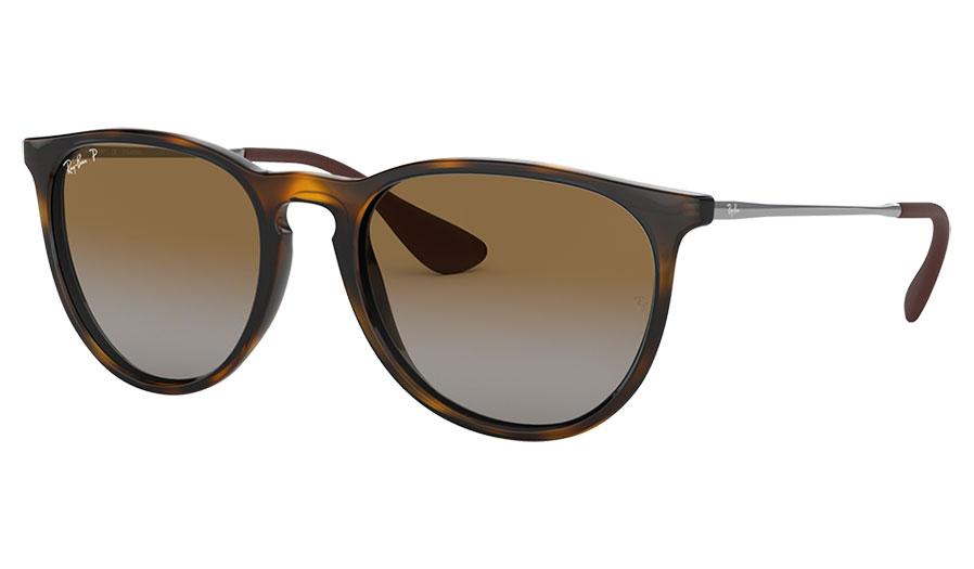 Ray-Ban RB4171 Erika Sunglasses - Tortoise / Brown Gradient Polarised