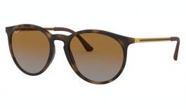 Ray-Ban RB4274 Sunglasses - Rubber Havana / Brown Gradient Polarised