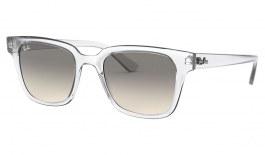 Ray-Ban RB4323 Sunglasses - Transparent / Grey Gradient