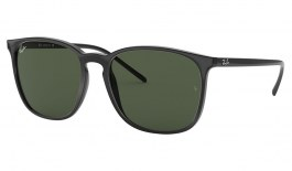 Ray-Ban RB4387 Sunglasses - Black / Green