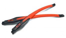 Oakley Crosslink / Crosslink Sweep Temple Kit - Satin Black & Orange