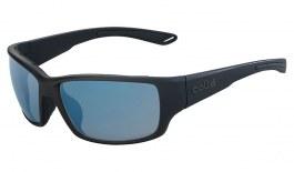 Bolle Kayman Sunglasses - Matte Black / Phantom+ Polarised Photochromic