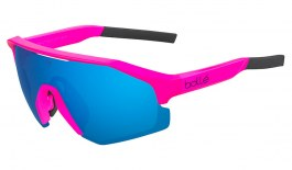Bolle Lightshifter Sunglasses - Matte Pink / Brown Blue