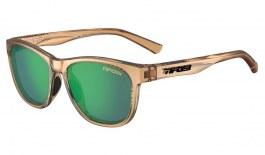 Tifosi Swank Sunglasses - Crystal Brown / Smoke Green