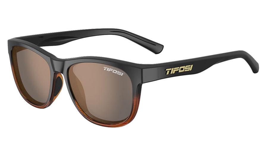 Tifosi Swank Sunglasses - Brown Fade / Brown