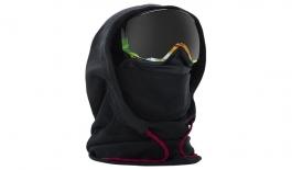 Anon Women's MFI Fleece Helmet Hood - Black