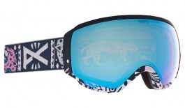 Anon WM1 MFI Ski Goggles - Noom / Perceive Variable Blue + Perceive Cloudy Pink