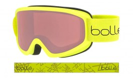 Bolle Freeze Ski Goggles - Matte Lime / Vermillon