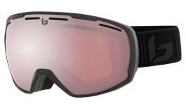 Bolle Laika Prescription Ski Goggles - Matte Black Corp / Vermillon Gun