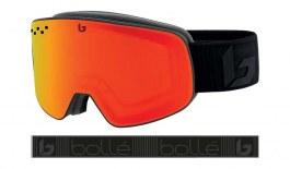 Bolle Nevada Prescription Ski Goggles - Matte Black Corp / Sunrise