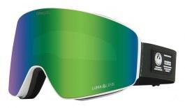 Dragon PXV Ski Goggles - Alpine Camo / Lumalens Green Ion + Lumalens Amber
