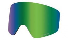 Dragon PXV Ski Goggles Lens - Lumalens Green Ion