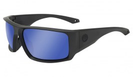 Dragon Equinox X Sunglasses - Matte Black H2O (Floatable) / Lumalens Gun Blue Ion