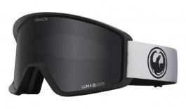 Dragon DXT OTG Ski Goggles - Fade Black Lite / Lumalens Dark Smoke