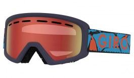 Giro Rev Ski Goggles - Blue Rock / Amber Scarlet