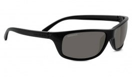Serengeti Bormio Sunglasses - Shiny Black / CPG Polarised Photochromic
