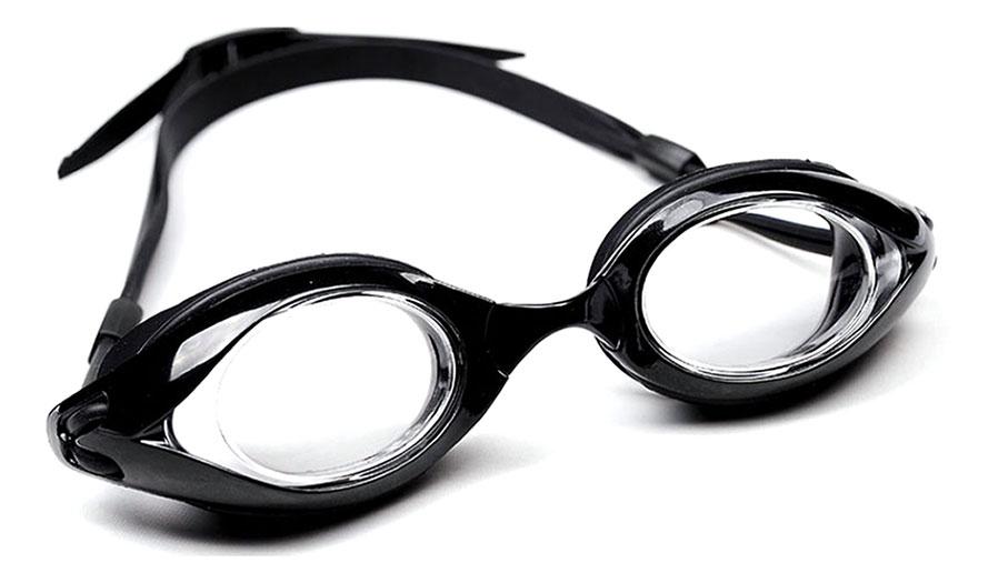 be034f768d Long Sail Prescription Swimming Goggles - Black - RxSport