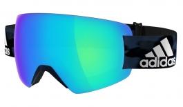 adidas ad85 Progressor Splite Ski Goggles - Mystery Blue / Blue Mirror