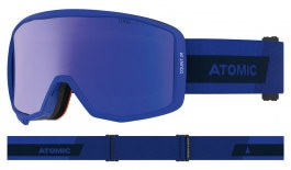 Atomic Count Jr Cylindrical Ski Goggles - Blue / Blue Flash