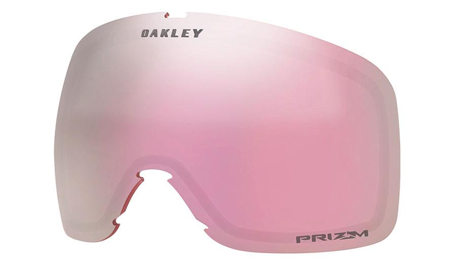 Oakley Flight Tracker XL Ski Goggles Replacement Lens Kit - Prizm HI Pink Iridium